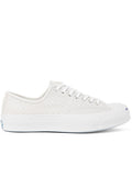 Converse Jack Purcell Signature Low-Top Sneakers in White Perforated Leather