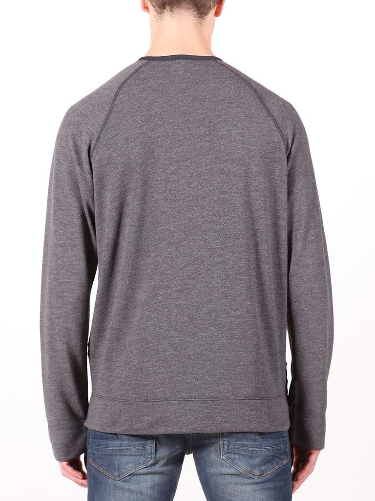 BENSON X WORKSHOP SWEATSHIRT IN DARK GREY  - 3
