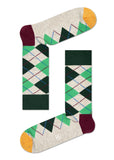 HS ARGYLE SOCK IN GREEN