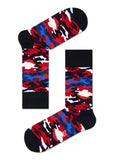HS CAMO SOCK IN RED