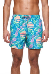 BOARDIES APPAREL RISING PALM SWIM SHORTS