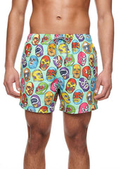 BOARDIES APPAREL MEXICAN MASKS SWIM SHORTS