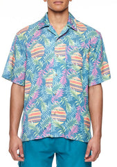 BOARDIES APPAREL RISING PALM SHIRT