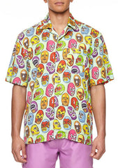 BOARDIES APPAREL MEXICAN MASKS SHIRT