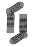 HS BARB WIRE SOCK IN GREY
