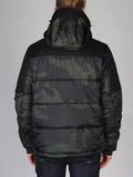 Best Fall Mens Outfits and Urban Style G-Star Whistler Hooded Camo Jacket in Asfalt and Carbon Back