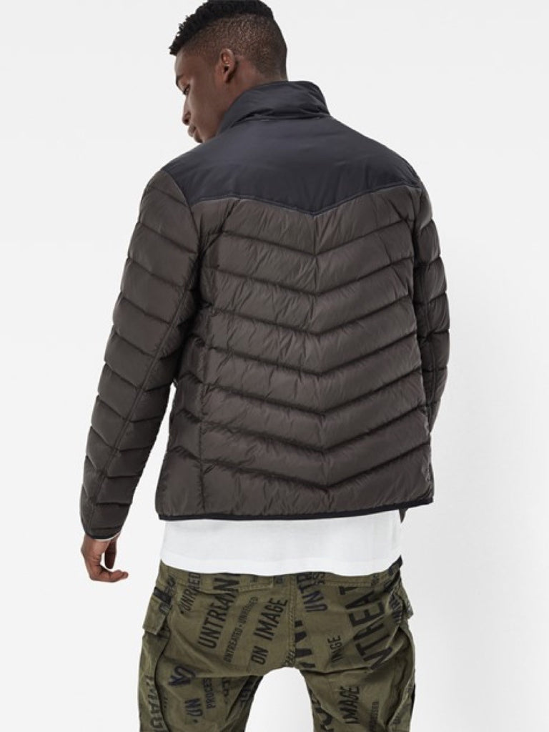 G-Star Attacc Down Colorblock Jacket in Raven