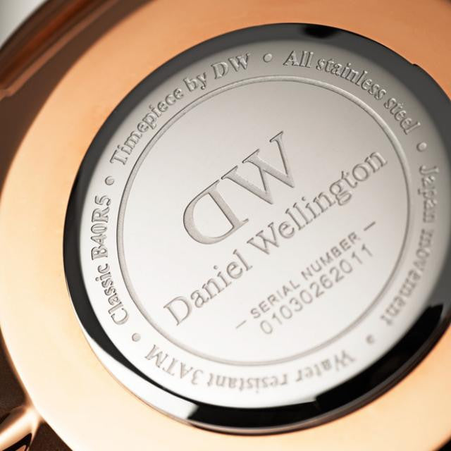 Daniel Wellington Classic Durham Watch with Rose Gold