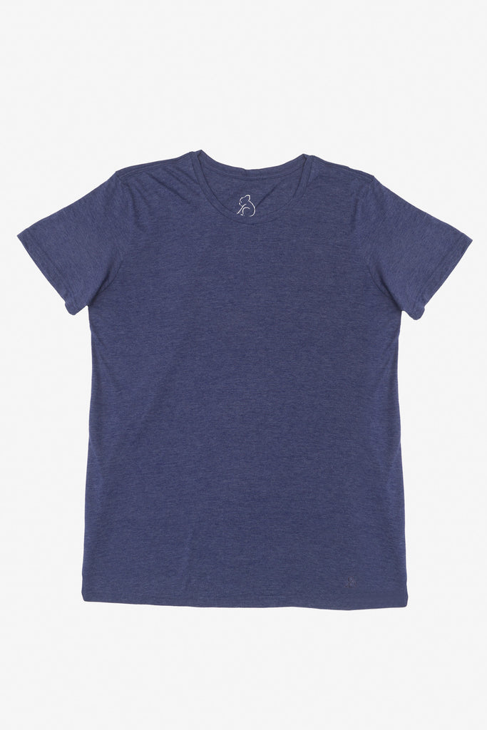 KUWALLA TEE CREW-NECK T-SHIRT 3-PACK IN SHADES OF BLUE  - 3