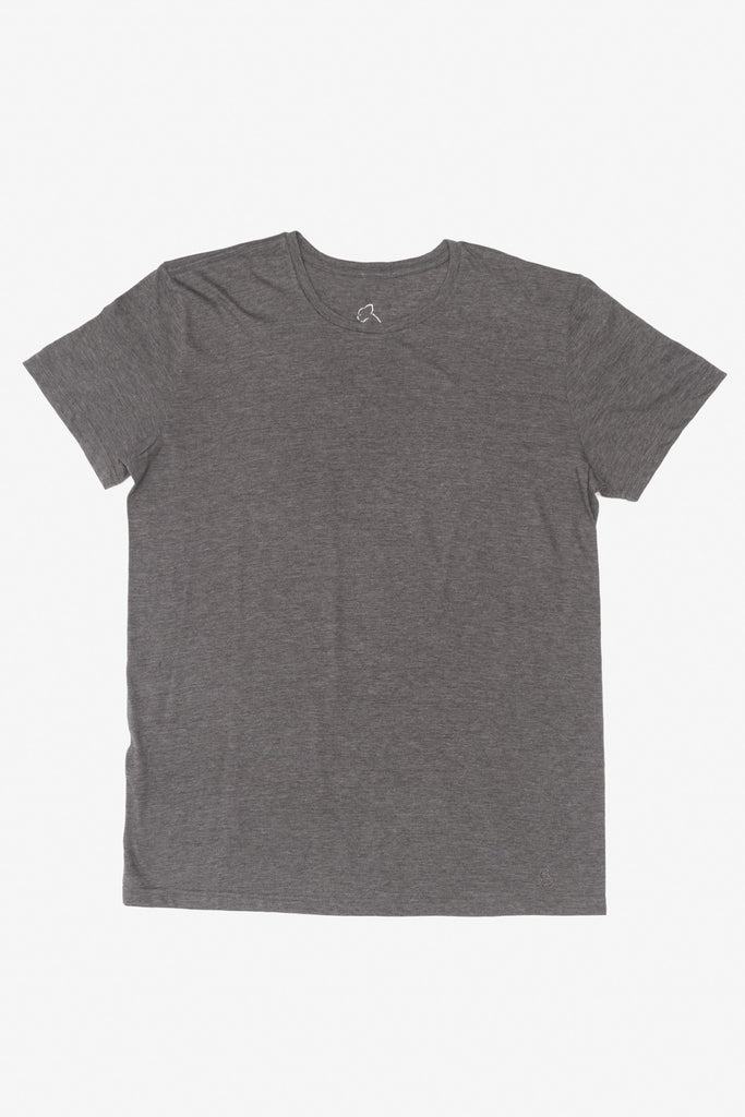 KUWALLA TEE CREW-NECK T-SHIRT 3-PACK IN SHADES OF GREY  - 3