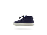PEOPLE FOOTWEAR KIDS CYPRESS CHUKKA SNEAKERS IN MARINER BLUE AND PICKET WHITE