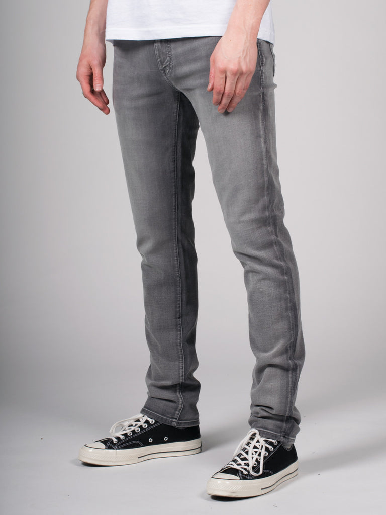 FIDELITY JIMMY JEAN IN OXY STEELER GREY RINSE  - 2