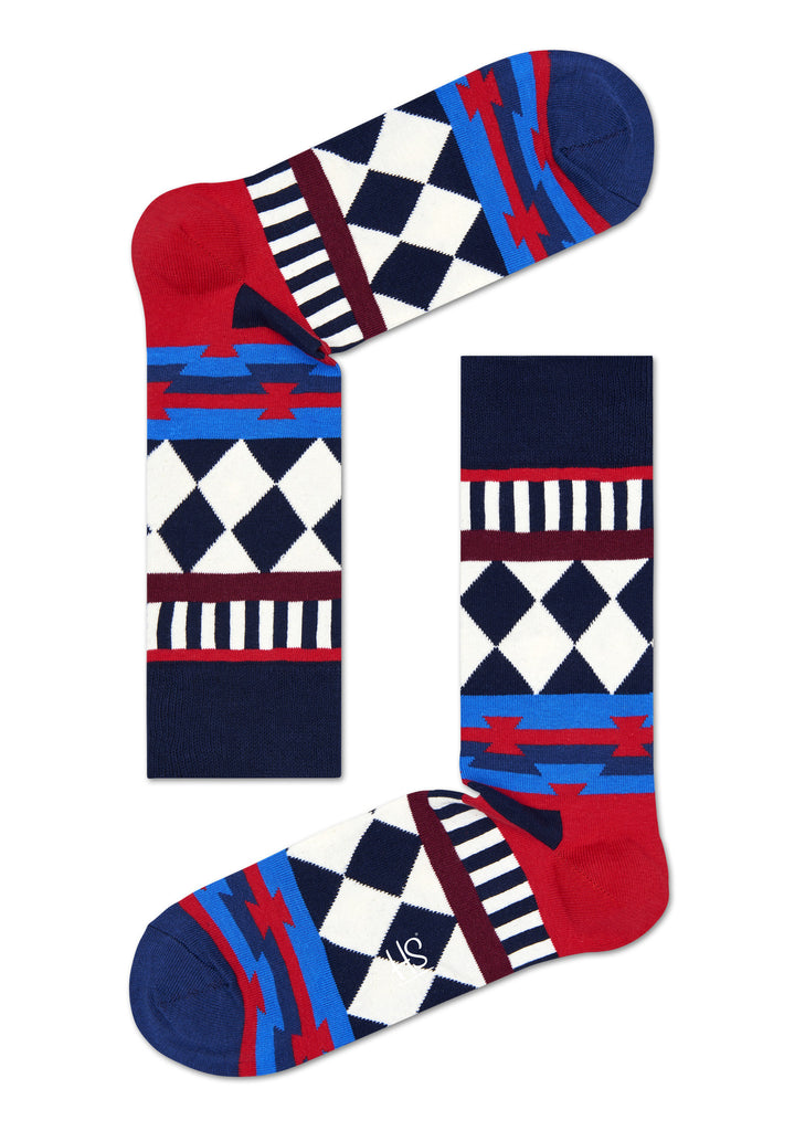 HS DISCO TRIBE SOCK IN BLUE