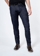 DUER L2X PERFOMANCE STRETCH SLIM FIT JEANS IN DENIM RINSE  - 2