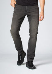 DUER L2X PERFOMANCE STRETCH SLIM FIT JEANS IN ANTIQUE BLACK