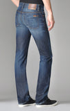 FIDELITY SLIM JIM SLIM FIT JEANS IN WINDSOR BLUE RINSE  - 2