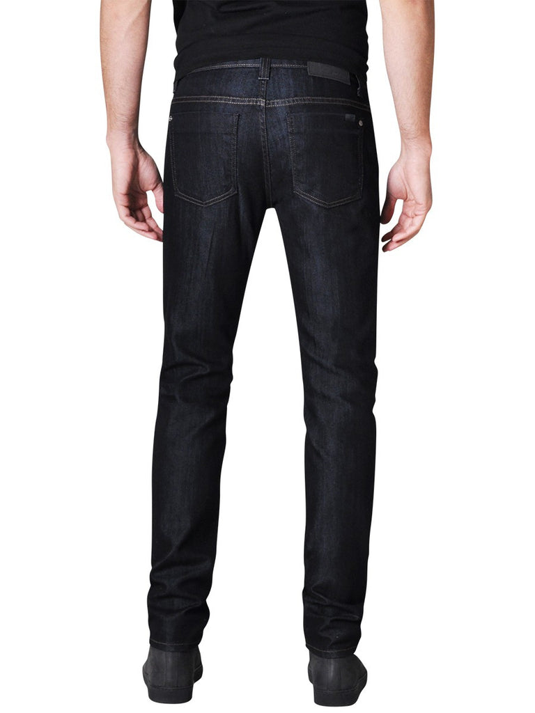 FIDELITY TORINO NARROW SLIM JEANS IN REVOLUTION RINSE  - 2