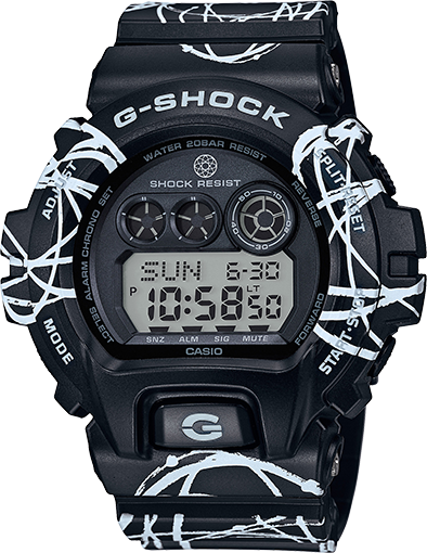 G-SHOCK X FUTURA HYBRID ANALOG DIGITAL HYBRID WATCH