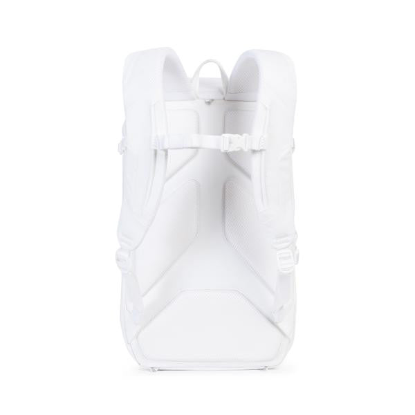 HERSCHEL SUPPLY CO. BARLOW L BACKPACK IN WHITE  - 5