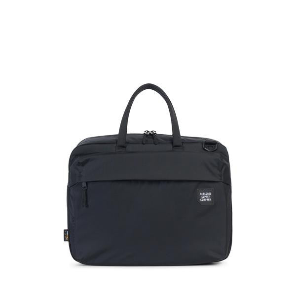 HERSCHEL SUPPLY CO. BRITANNIA MESSENGER BACKPACK IN BLACK  - 1