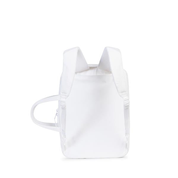 HERSCHEL SUPPLY CO. BRITANNIA MESSENGER BACKPACK IN WHITE  - 2