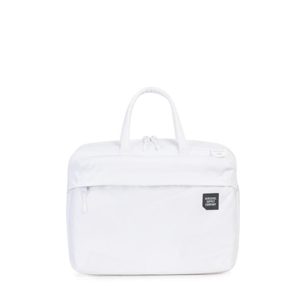 HERSCHEL SUPPLY CO. BRITANNIA MESSENGER BACKPACK IN WHITE  - 1