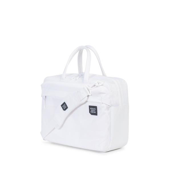 HERSCHEL SUPPLY CO. BRITANNIA MESSENGER BACKPACK IN WHITE  - 3