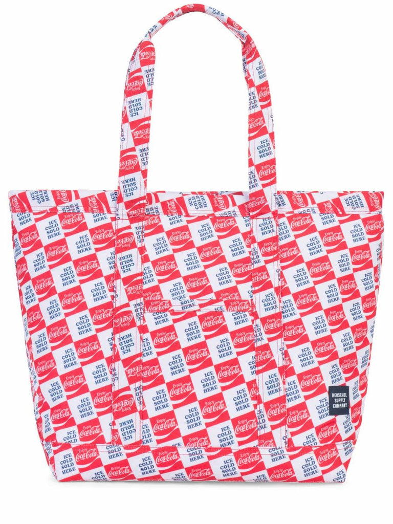 HERSCHEL SUPPLY CO X COCA-COLA MID-VOLUME BAMFIELD TOTE  - 1