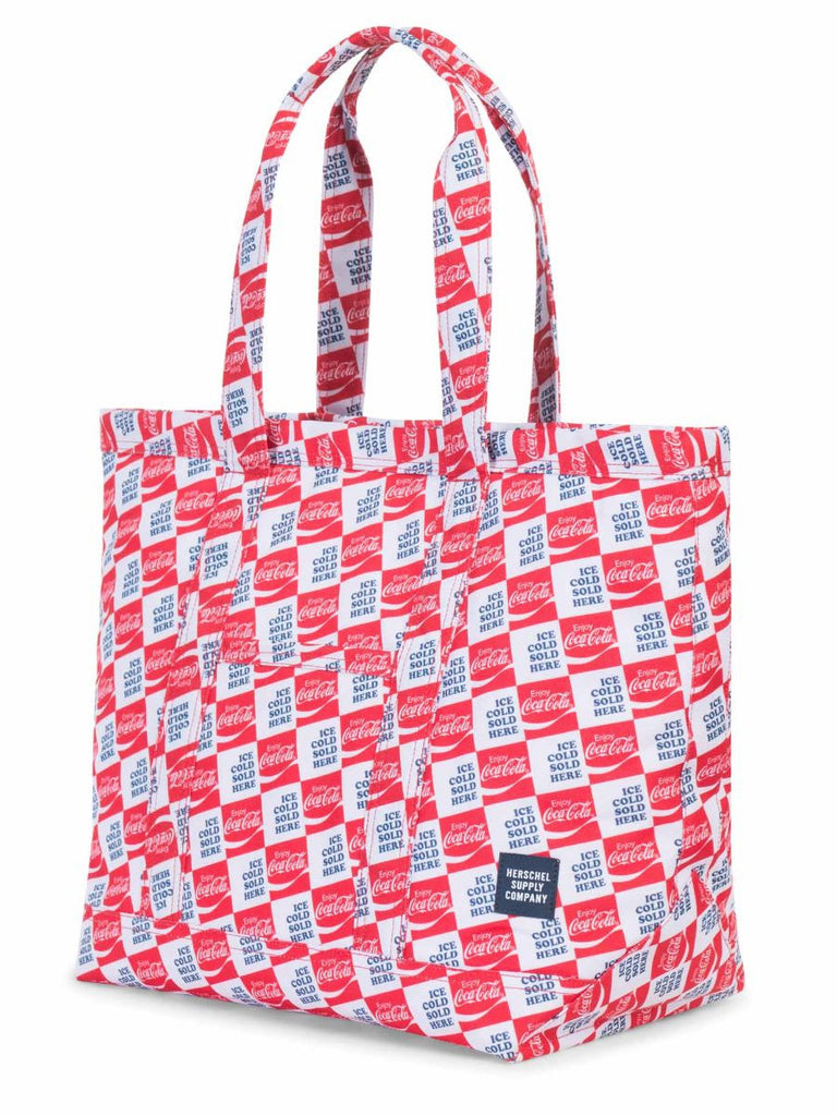HERSCHEL SUPPLY CO X COCA-COLA MID-VOLUME BAMFIELD TOTE  - 2