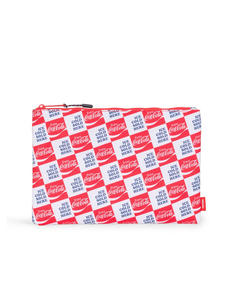 HERSCHEL SUPPLY CO X COCA-COLA PRINT LARGE NETWORK POUCH  - 1