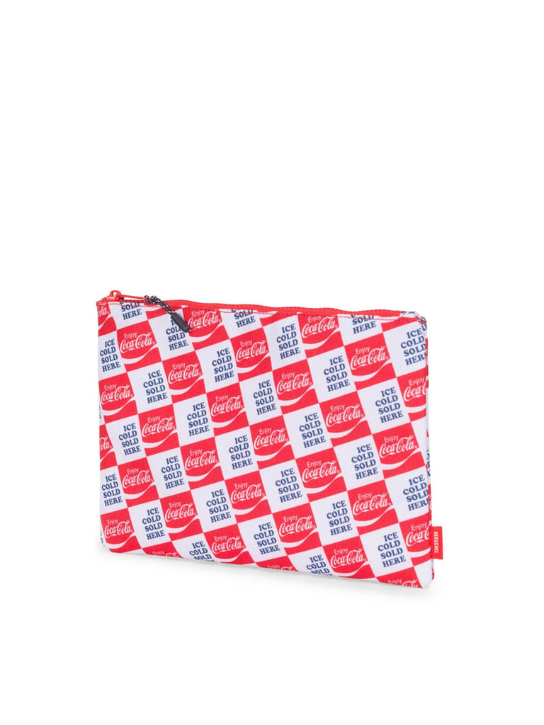 HERSCHEL SUPPLY CO X COCA-COLA PRINT LARGE NETWORK POUCH  - 3