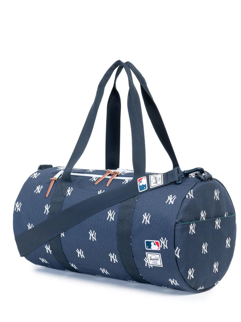 HERSCHEL SUPPLY CO X MLB NY YANKEES SPARWOOD DUFFLE BAG  - 2