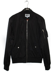 BOY LONDON BY SHANE GONZALES NYLON BOMBER JACKET