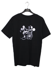BOY LONDON BY SHANE GONZALES MOUSE T-SHIRT IN BLACK
