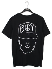 BOY LONDON BY SHANE GONZALES STRENGTH T-SHIRT IN BLACK