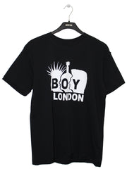 BOY LONDON BY SHANE GONZALES ROCKERS T-SHIRT IN BLACK