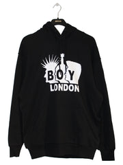 BOY LONDON BY SHANE GONZALES ROCKERS HOODIE IN BLACK