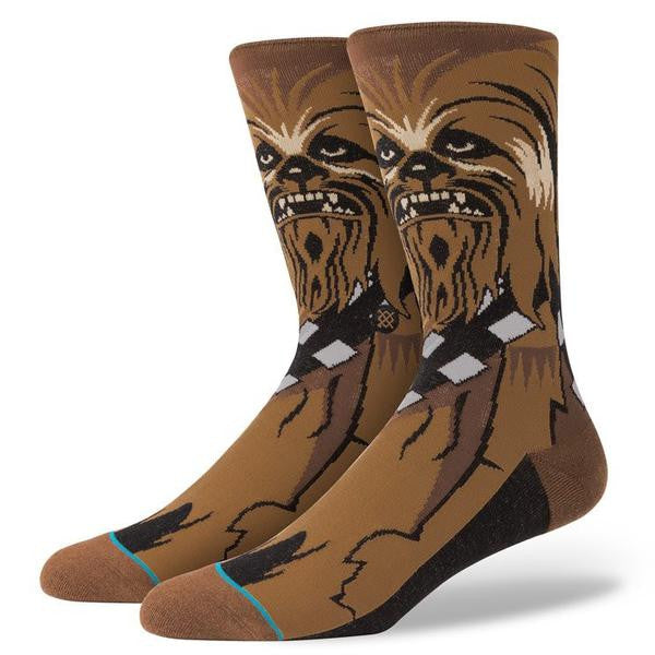 "Instance ""Chewie"" Star Wars Socks"