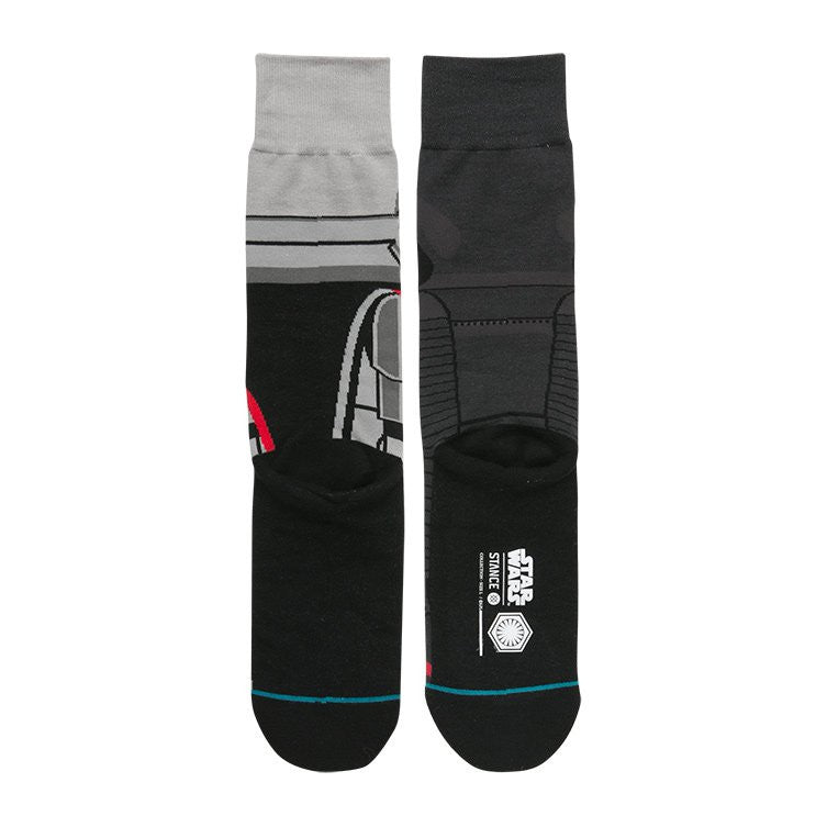 "Instance ""First Order"" Kylo Ren & Captain Phasma Star Wars Socks  - 3"