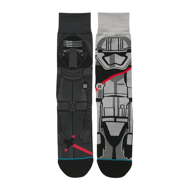 "Instance ""First Order"" Kylo Ren & Captain Phasma Star Wars Socks  - 2"