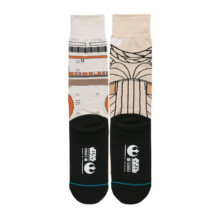 "Instance ""The Resistance"" Rey & BB8 Star Wars Socks  - 3"