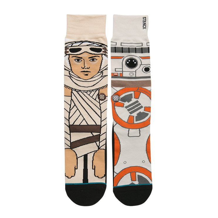"Instance ""The Resistance"" Rey & BB8 Star Wars Socks  - 2"