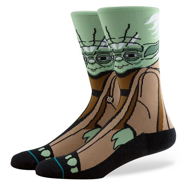 "Instance ""Yoda"" Star Wars Socks"