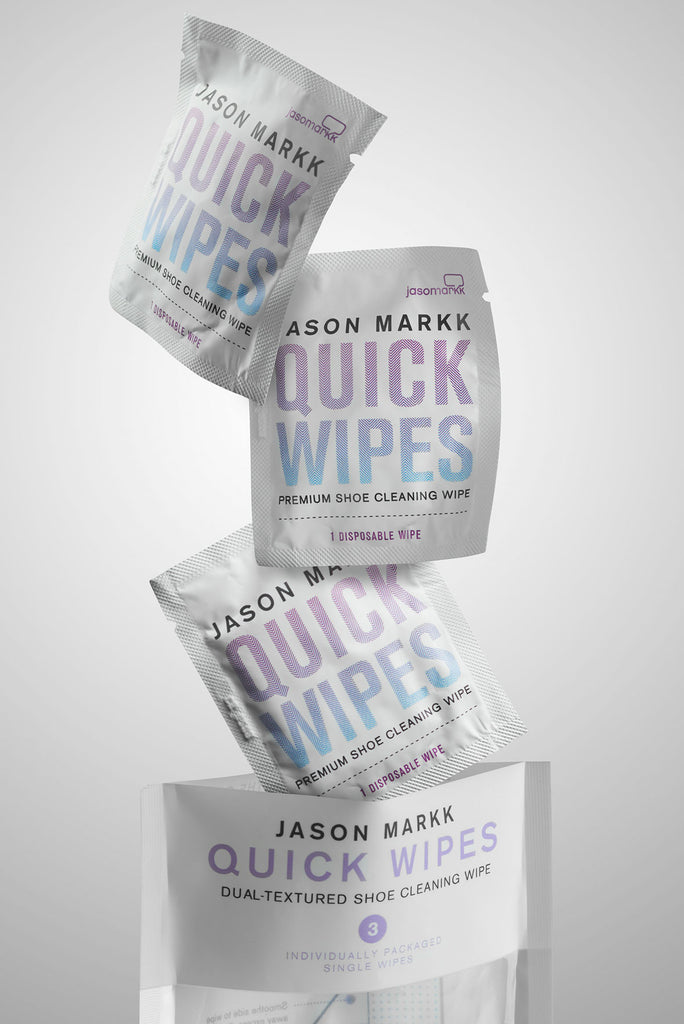 Jason Markk Quick Wipes 3-Pack  - 3