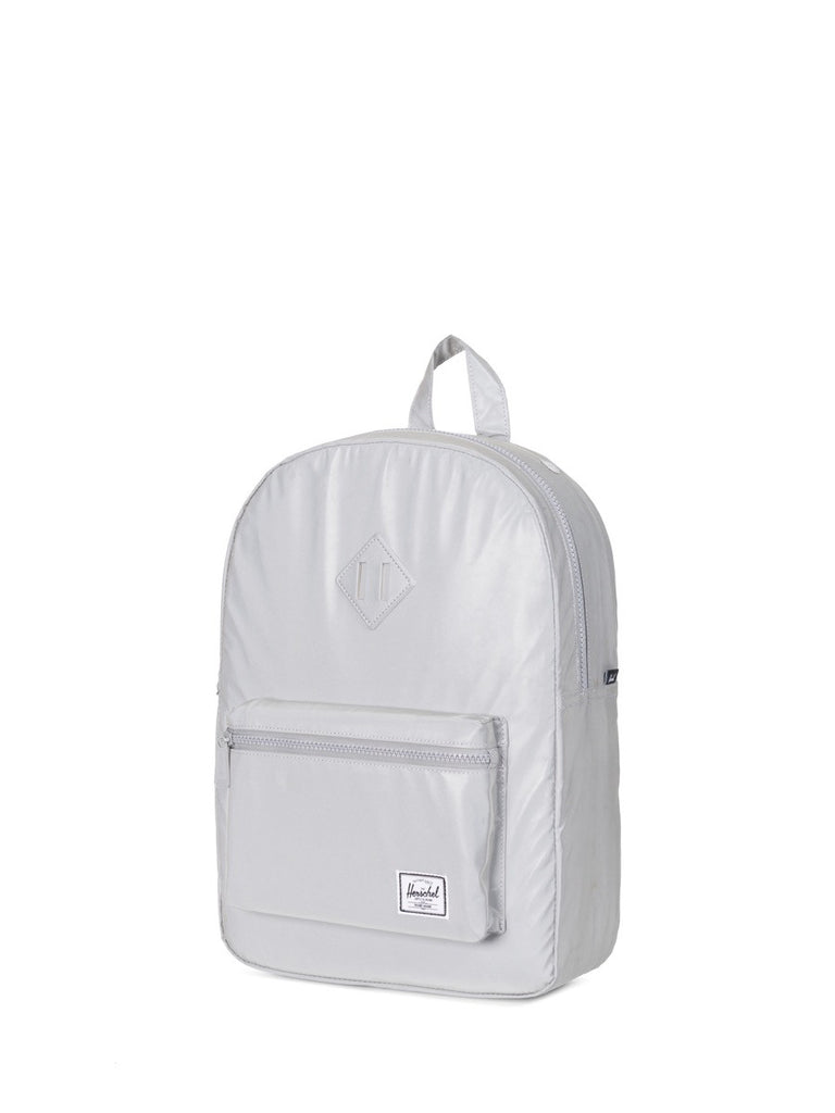 Join Boys'Co A-List for Herschel DIscount Code Herschel Supply Co Heritage Youth Backpack in Reflective Silver Side