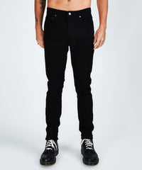KSUBI CHITCH JEANS IN LAID BLACK - B09A55445 - FRONT