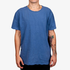 KSUBI SEEING LINES TEE IN BLADEZ BLUE - B17A43050 - FRONT