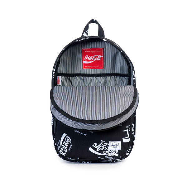 HERSCHEL X COCA-COLA LAWSON BACKPACK IN BLACK  - 2