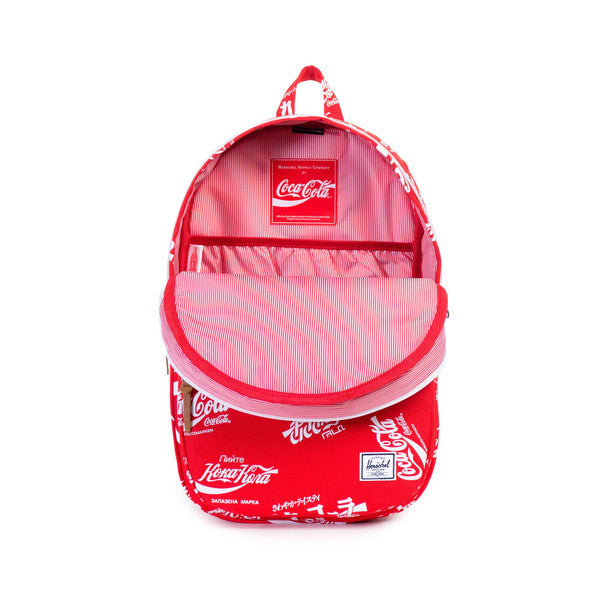 HERSCHEL X COCA-COLA LAWSON BACKPACK IN RED  - 2