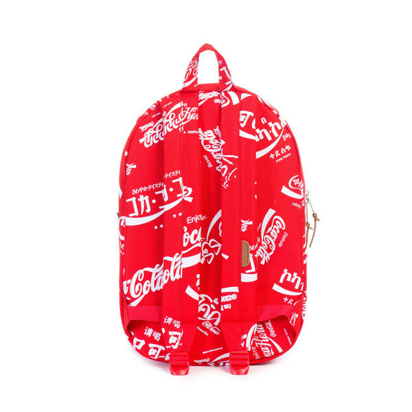 HERSCHEL X COCA-COLA LAWSON BACKPACK IN RED  - 4